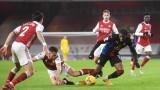 Арсенал и Кристъл Палас завършиха 0:0 във Висшата лига