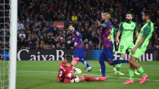 Барселона показа истинското си лице и отнесе Леганес
