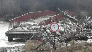 Мостът между селата Ямен и Четирци бил опасен за хората