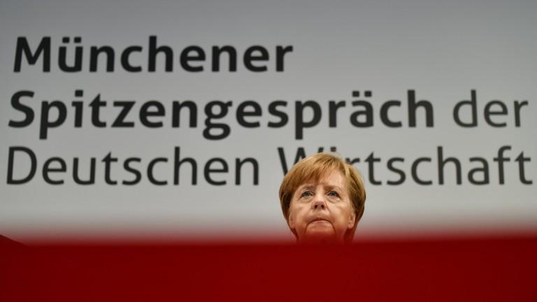 Меркел: Търговският излишък се свива
