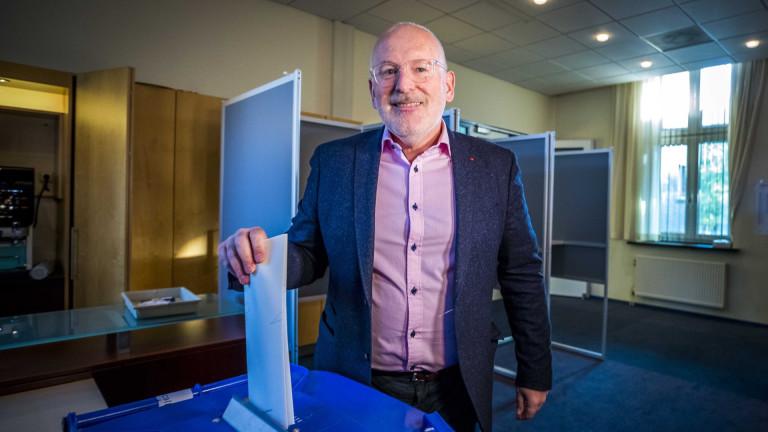 Партията на Тимерманс печели евровота в Холандия