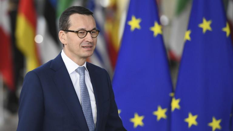 Премиерът на Полша Матеуш Моравиецки спечели вота на доверие в