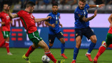 Италия и България завършиха наравно 1:1 в квалификация за Световното първенство