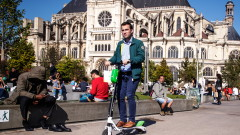 Париж погва електрическите скутери