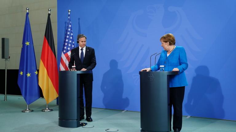 """САЩ предупреждават в Германия: """"Северен поток 2"""" може да е оръжие на Русия срещу Украйна"""