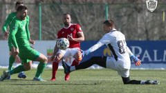 ЦСКА отново не допусна гол в контрола, но не успя и да вкара