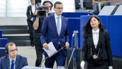 Полша има право на собствена правна система, коментира Моравецки в ЕП