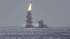 ВМС на САЩ тества Trident II от подводница клас Охайо