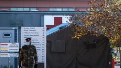 Гръцката армия гради полева болница в Солун