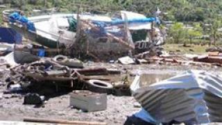 Островите Самоа сринати след цунамито