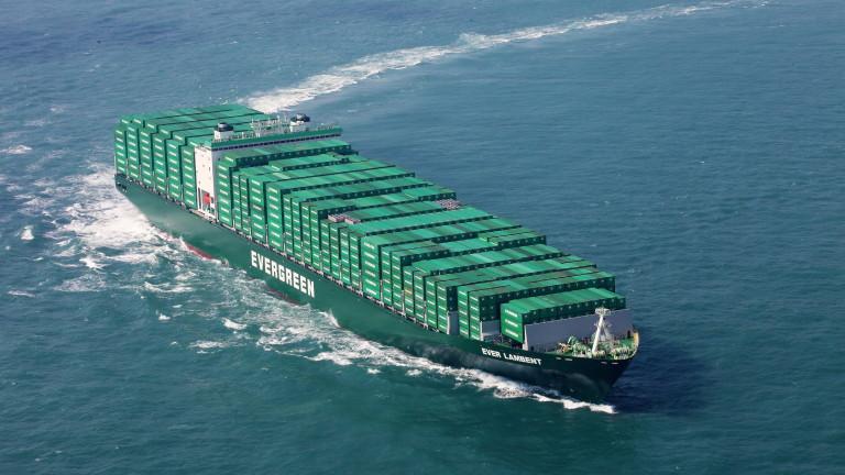 Китайски боен кораб се сблъска в товарен кораб на Тайван