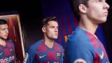 Барселона представи новата си нетрадиционна екипировка