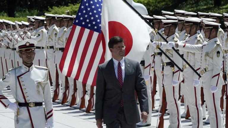 Министърът на отбраната на САЩ Марк Еспер обвини Китай в
