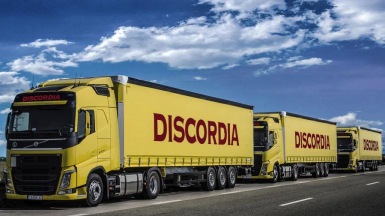 Снимка: Българската Discordia купува 280 нови камиона до края на годината