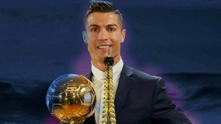 Връчват новата топка на Кристиано по оригинален начин