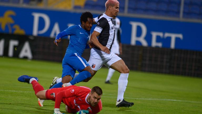 Левски - Локомотив (Пловдив) 1:2, втори гол на Малонга