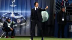 Емери: Харесва ми тръпката преди мача с Реал