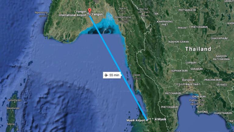 Откриха повечето тела на загиналите при самолетната катастрофа в Мианмар