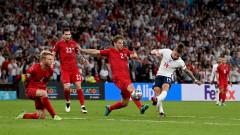 Англия - Дания 2:1 (Развой на срещата по минути)