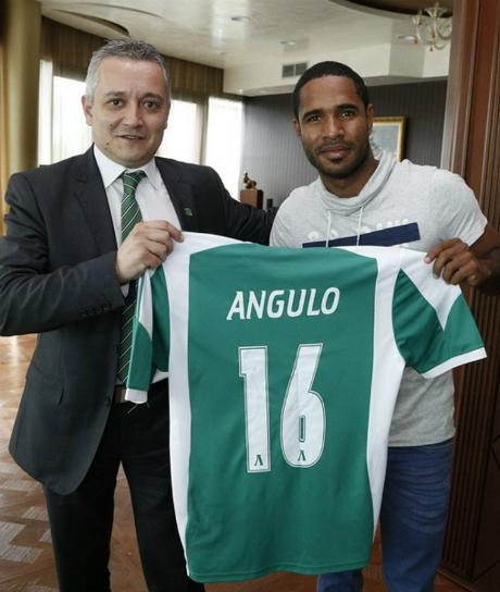 Лудогорец подписа с Ангуло