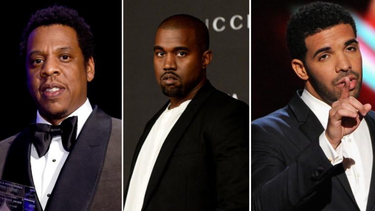 Кои са най-високоплатените рапъри за 2018 г.