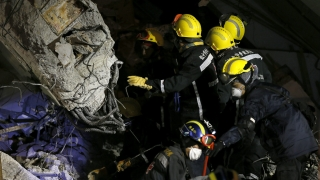 Расте броят на жертвите от труса в Тайван
