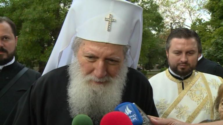 Патриархът благослови българите за 1125 г. от Преславския събор