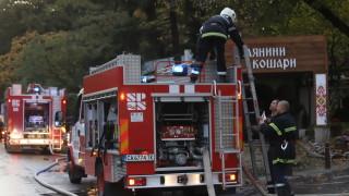 Все още не са ясни причините за пожара в Лозенец