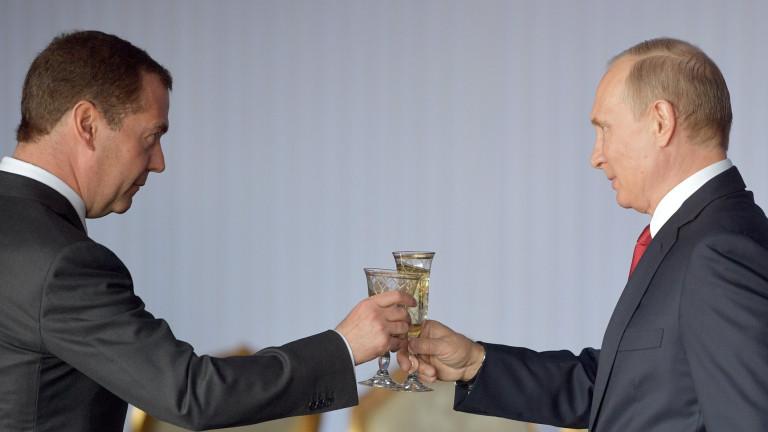 Четиригодишен срив на доверието към президента на Русия Владимир Путин.