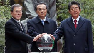 Китай, Япония и Южна Корея уговарят КНДР за ядрените изпитания