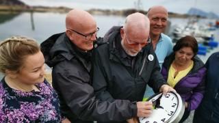 Село в Норвегия иска да се отърве от астрономическото време