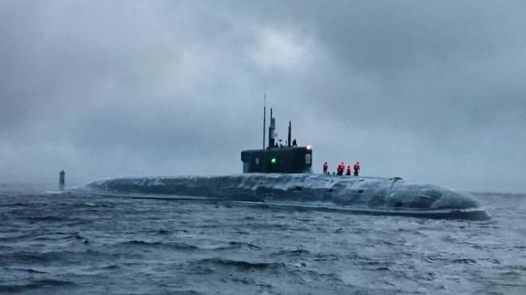 Започват изпитанията на руска топ подводница