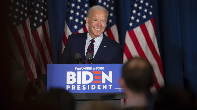 Байдън убедително води в Демократическата партия за президент на САЩ