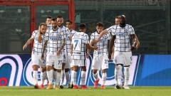 "Интер прати Кротоне в Серия ""Б"" и се приближи до титлата"