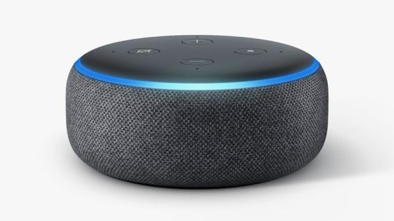Amazon Echo Dot.