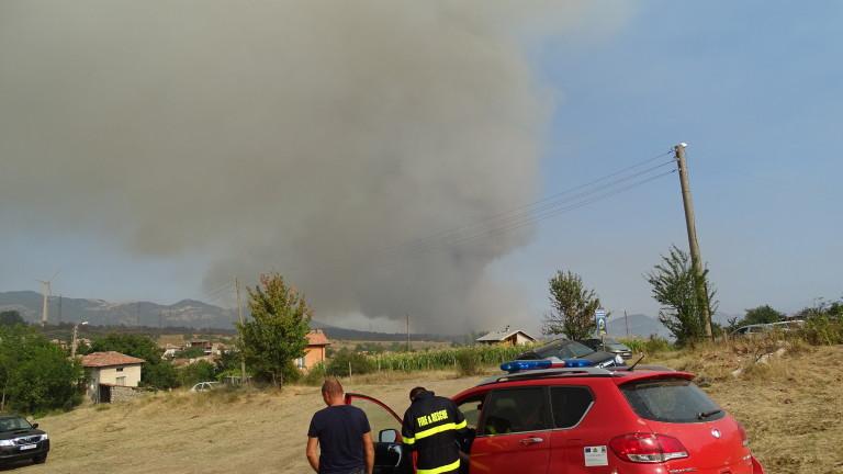Очакват до понеделник вечер пожарът в Кресненското дефиле да бъде ликвидиран