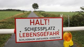 Военни стрелби предизвикаха бедствено положение в Германия