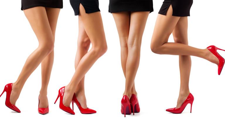Колко дълги са най-дългите женски крака
