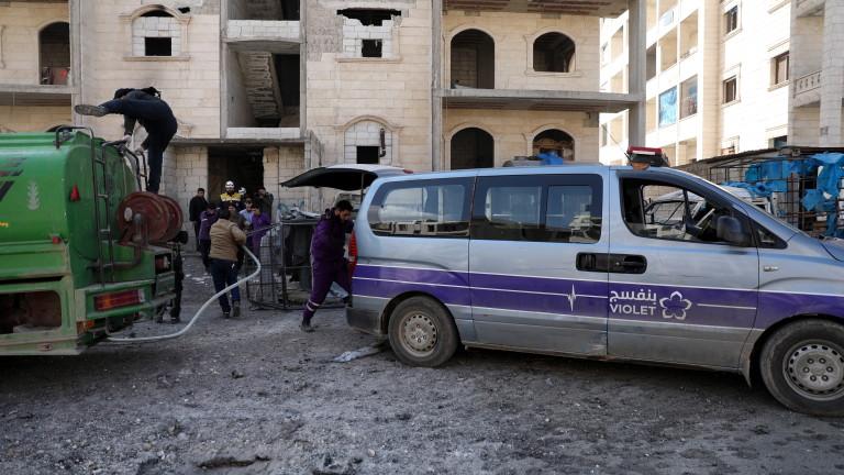Асад стоял зад протестите в Идлиб