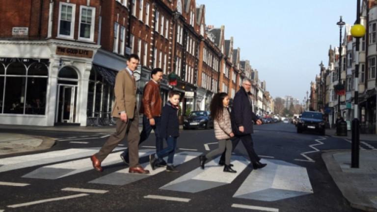 Ефектът на 3D пешеходните пътеки