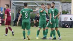 Лудогорец - Карабах 2:0, гол на Бакалов