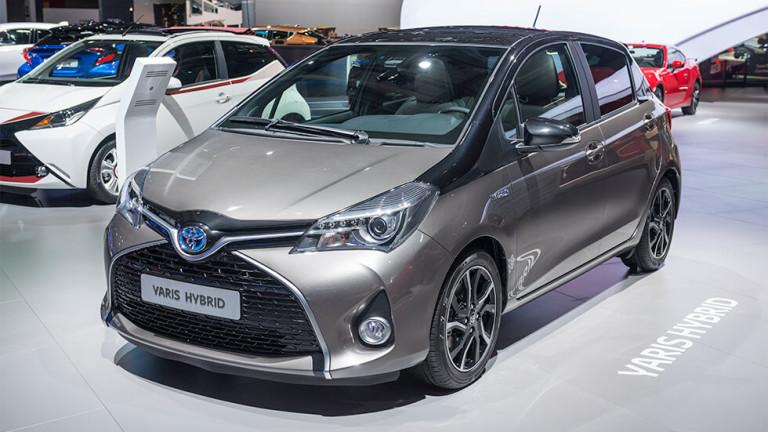 Близо 50% от продажбите на Toyota в Европа са хибридни коли