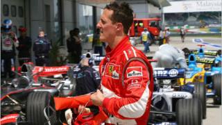 Михаел Шумахер продължава договора си с Ферари?