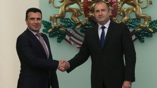 Евроинтеграцията на Северна Македония обсъдиха Радев и Заев