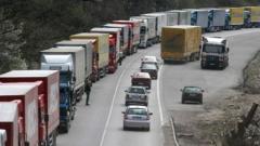 Блокирана е границата с Турция