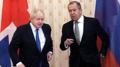 """Борис Джонсън """"скърца със зъби"""" на Лавров и Русия"""