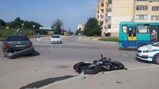 Моторист пострада при катастрофа в Русе