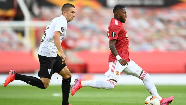 Манчестър Юнайтед се класира за четвъртфиналите в Лига Европа.