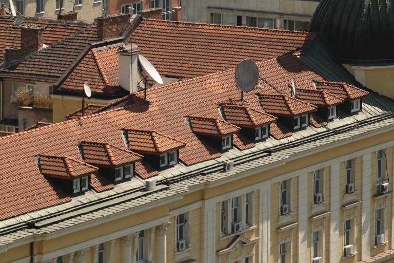 Покривът на сградата, който предстои да бъде видоизменен