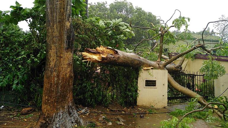 Индия е връхлетяна от най-голямата буря от десетилетия, пише
